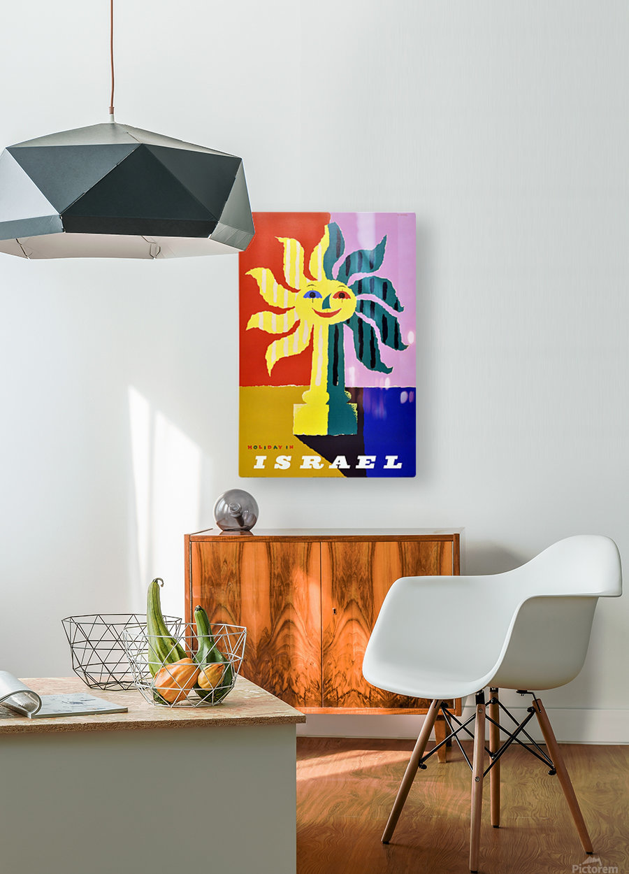 Holiday in Israel  HD Metal print with Floating Frame on Back