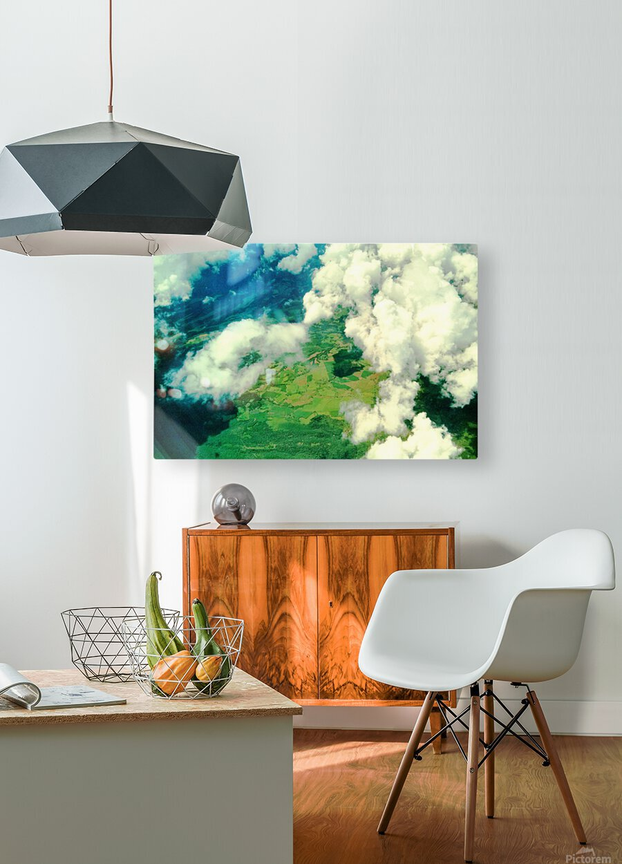 LS044  HD Metal print with Floating Frame on Back