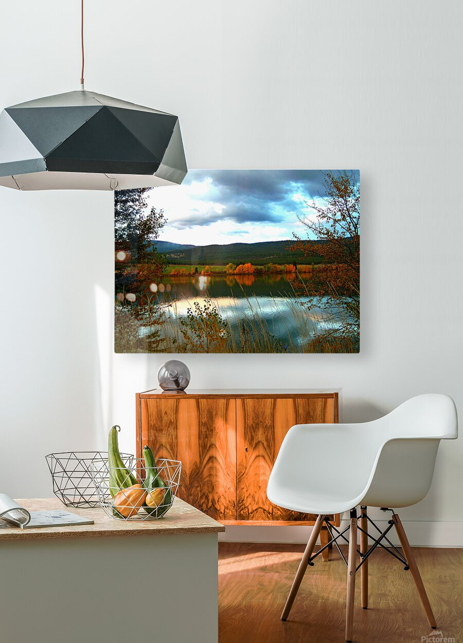 LS031  HD Metal print with Floating Frame on Back