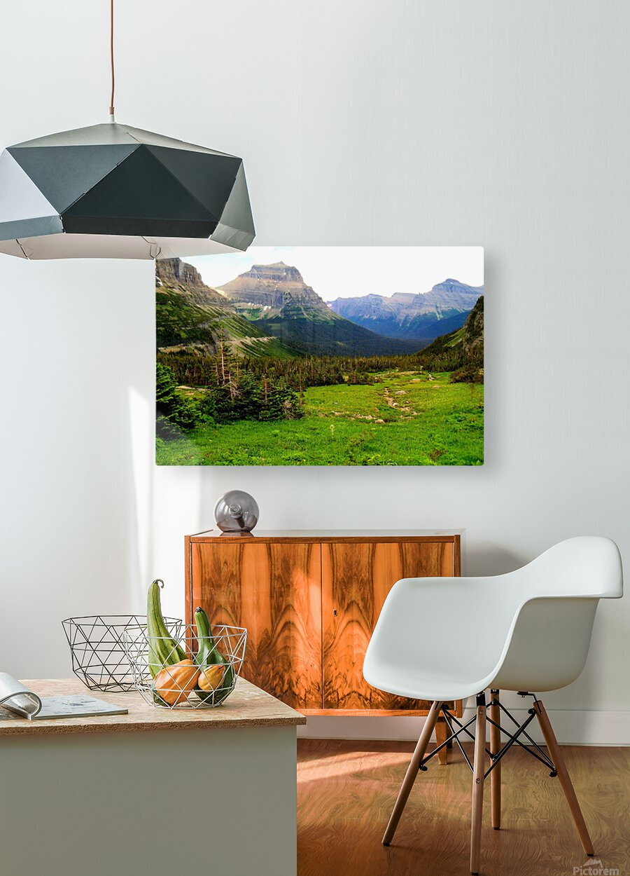 LS021  HD Metal print with Floating Frame on Back