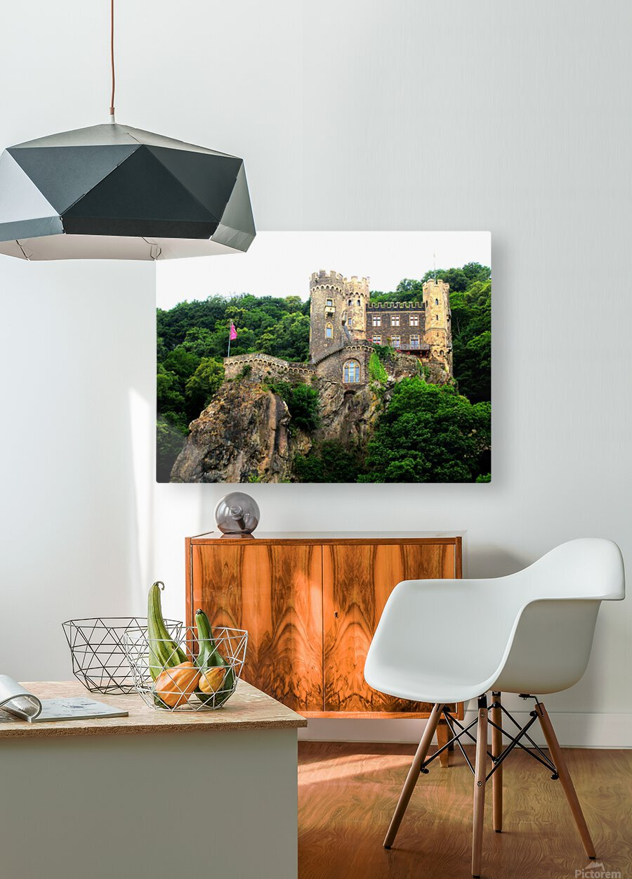 LS055  HD Metal print with Floating Frame on Back