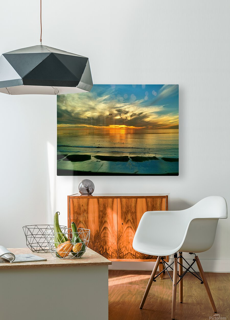 OS002  HD Metal print with Floating Frame on Back