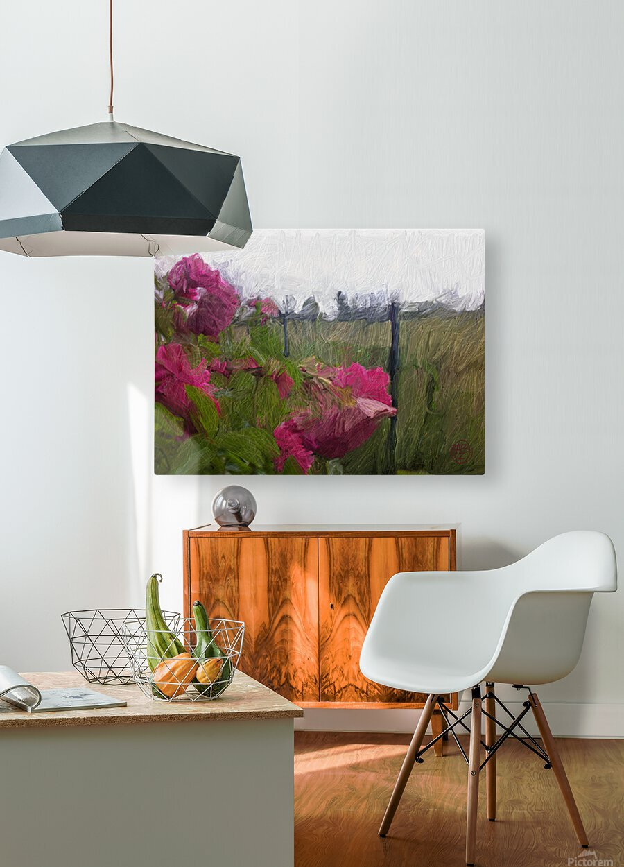 Seeing What Monet Saw  HD Metal print with Floating Frame on Back