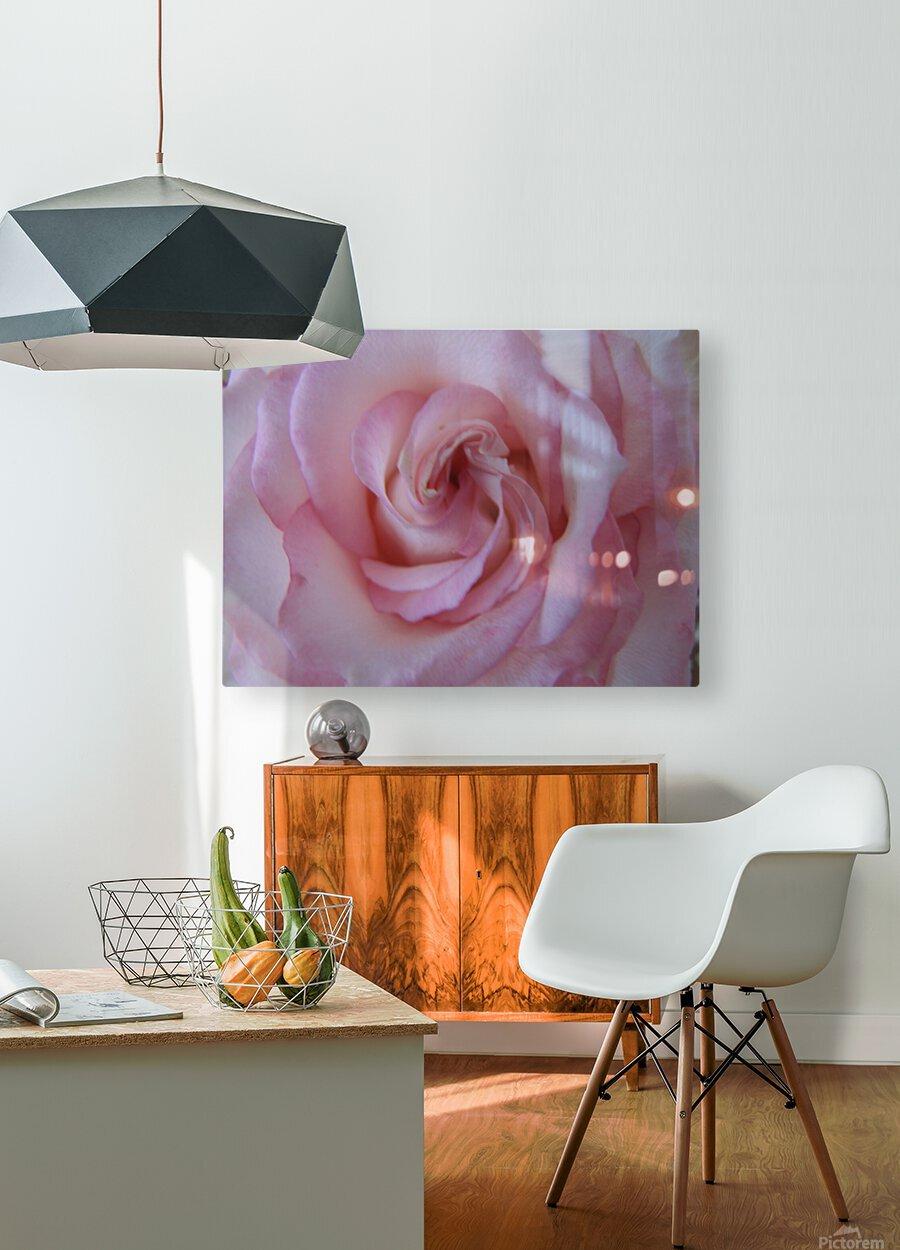 Softness  Impression métal HD avec cadre flottant sur le dos