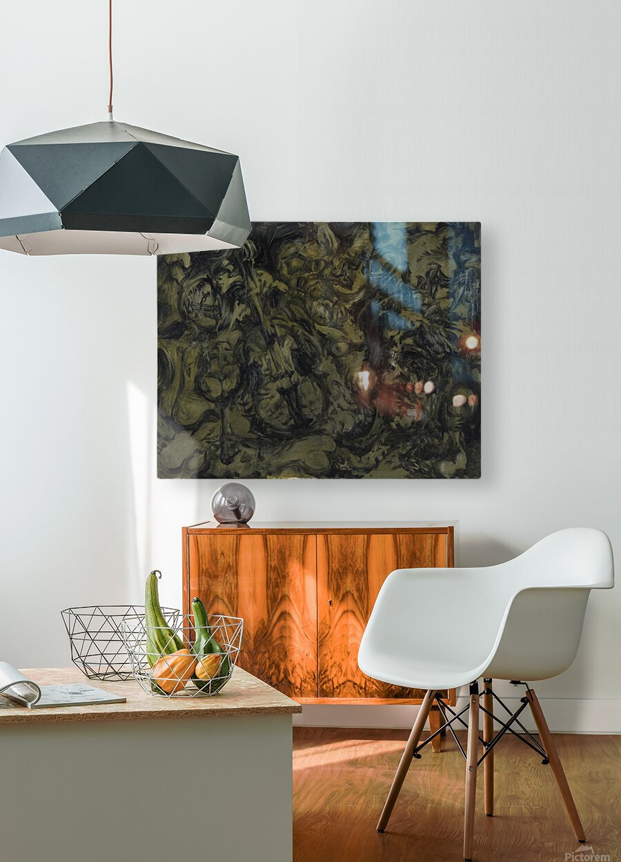 The Arts: Pareidolia  HD Metal print with Floating Frame on Back