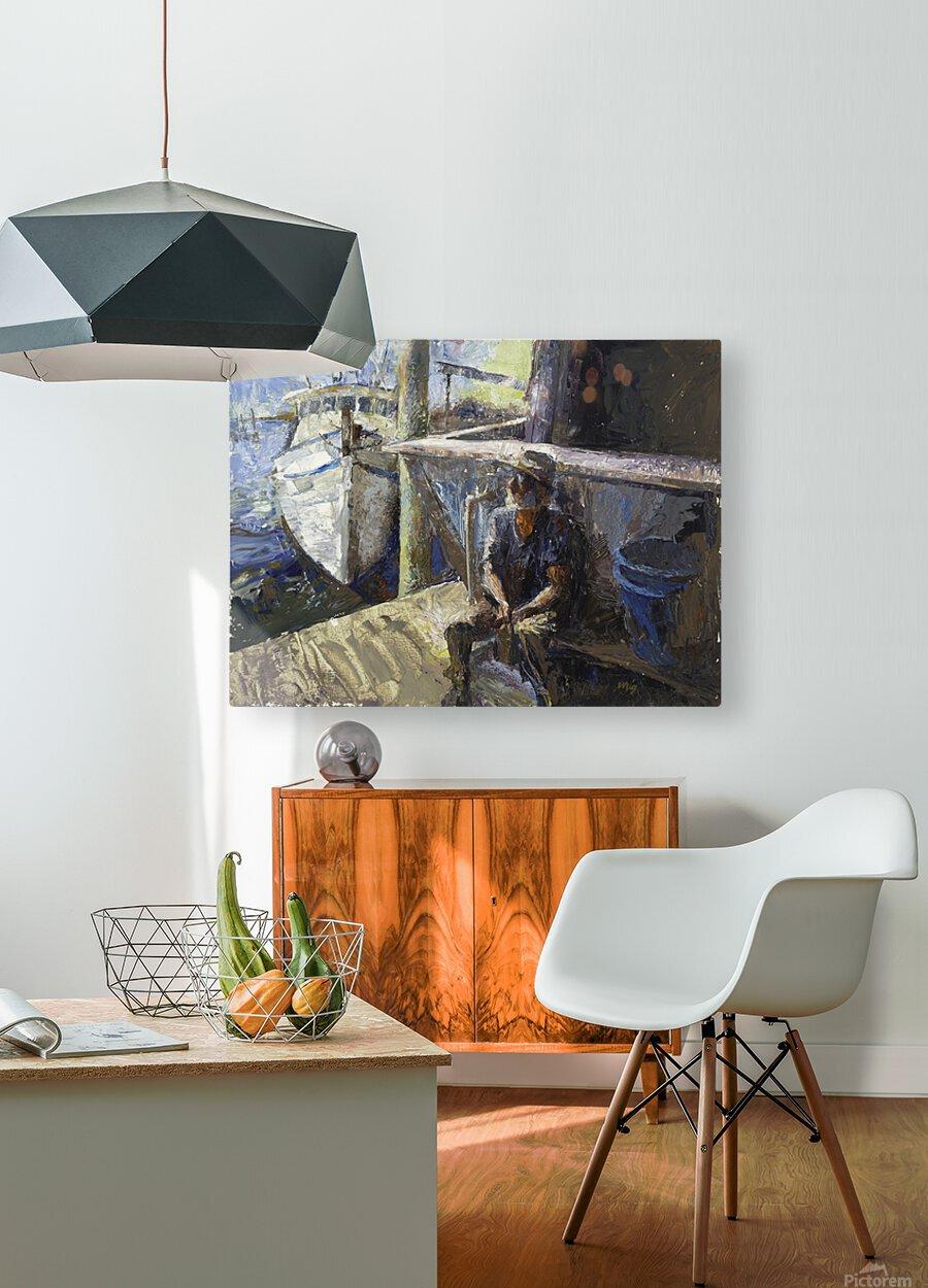 Finding Forrest Gump  HD Metal print with Floating Frame on Back