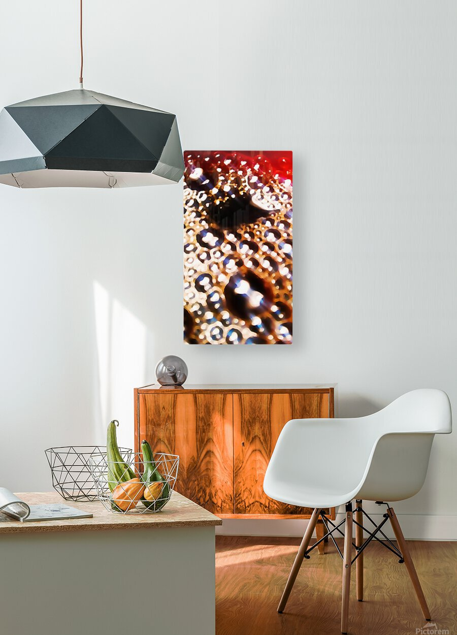 Coffee Time  HD Metal print with Floating Frame on Back