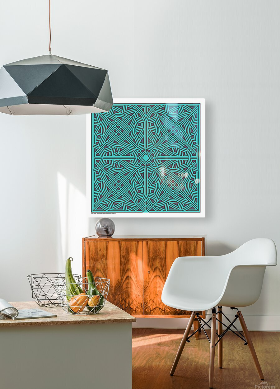 Maze 2896  HD Metal print with Floating Frame on Back