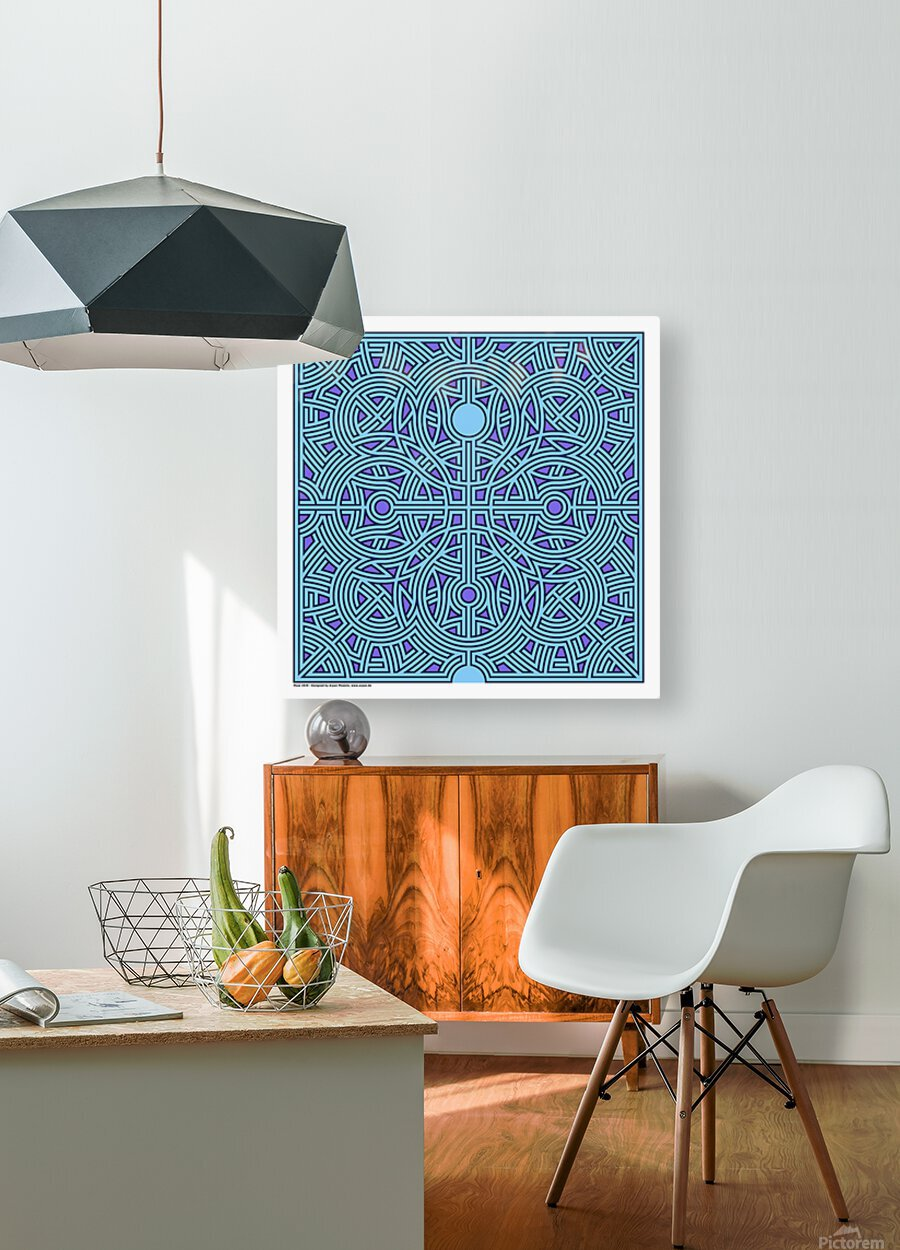 Maze 2839  HD Metal print with Floating Frame on Back