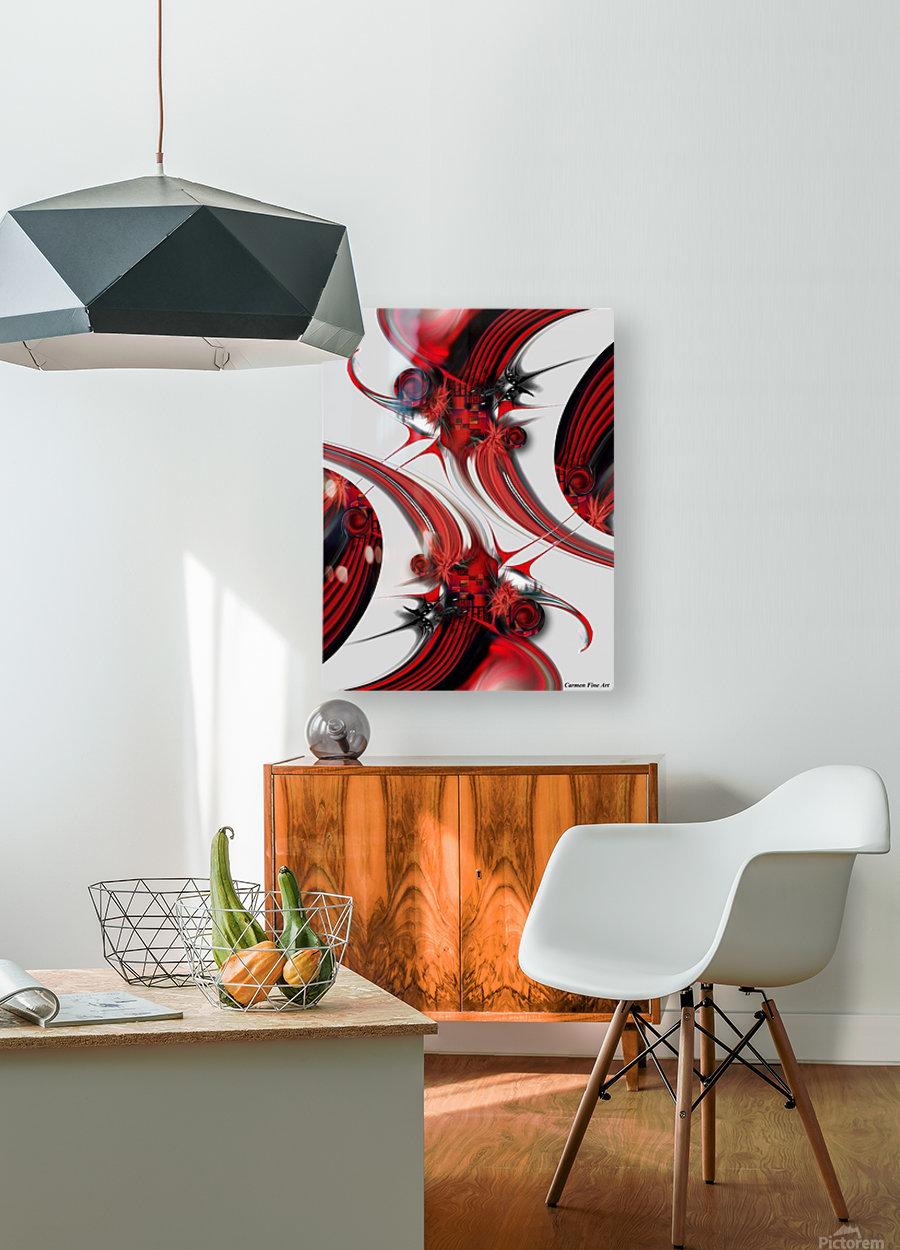 Tender Design   Composition  HD Metal print with Floating Frame on Back
