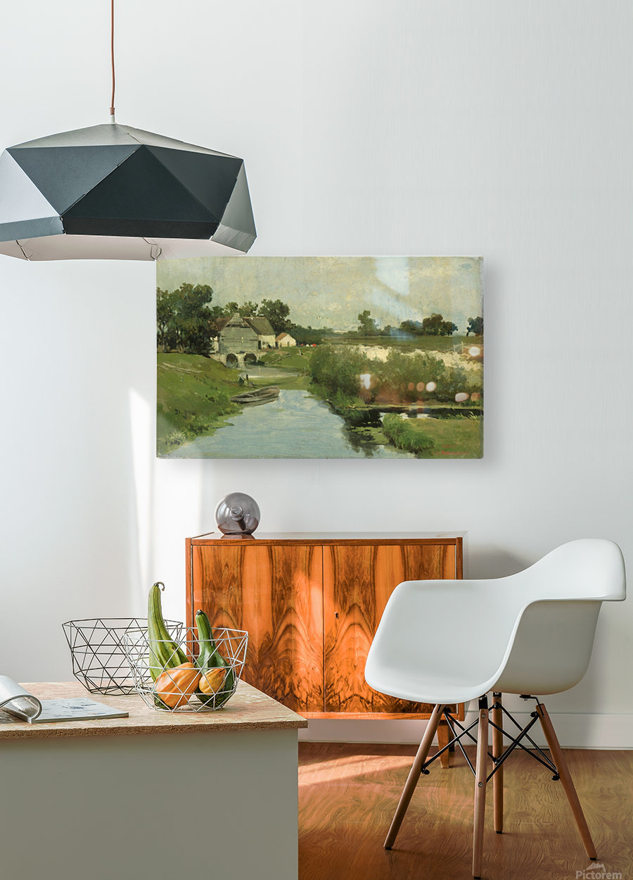 Zomerdag  HD Metal print with Floating Frame on Back