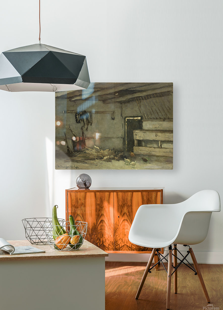 Stalinterieur  HD Metal print with Floating Frame on Back
