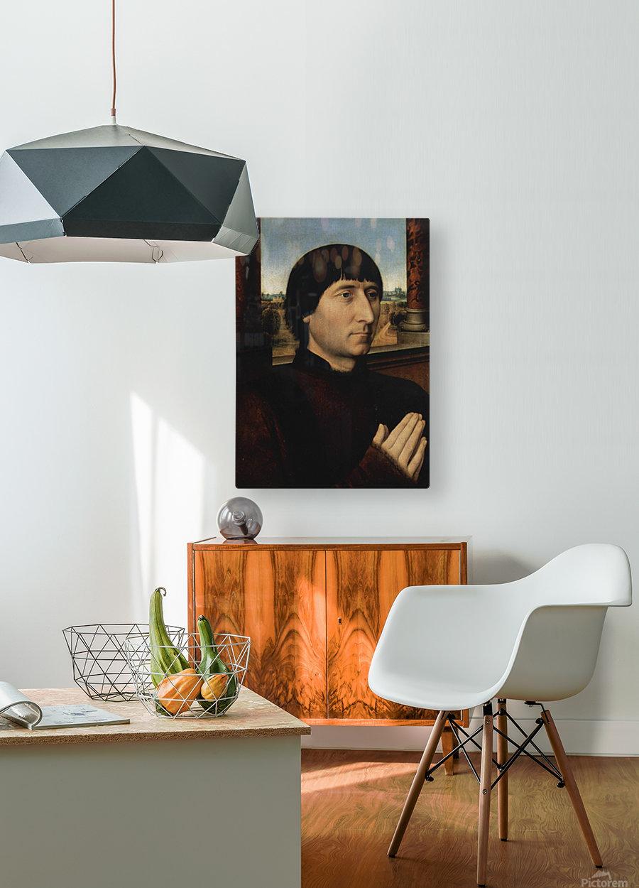 Portrait of Willem Moreel  HD Metal print with Floating Frame on Back