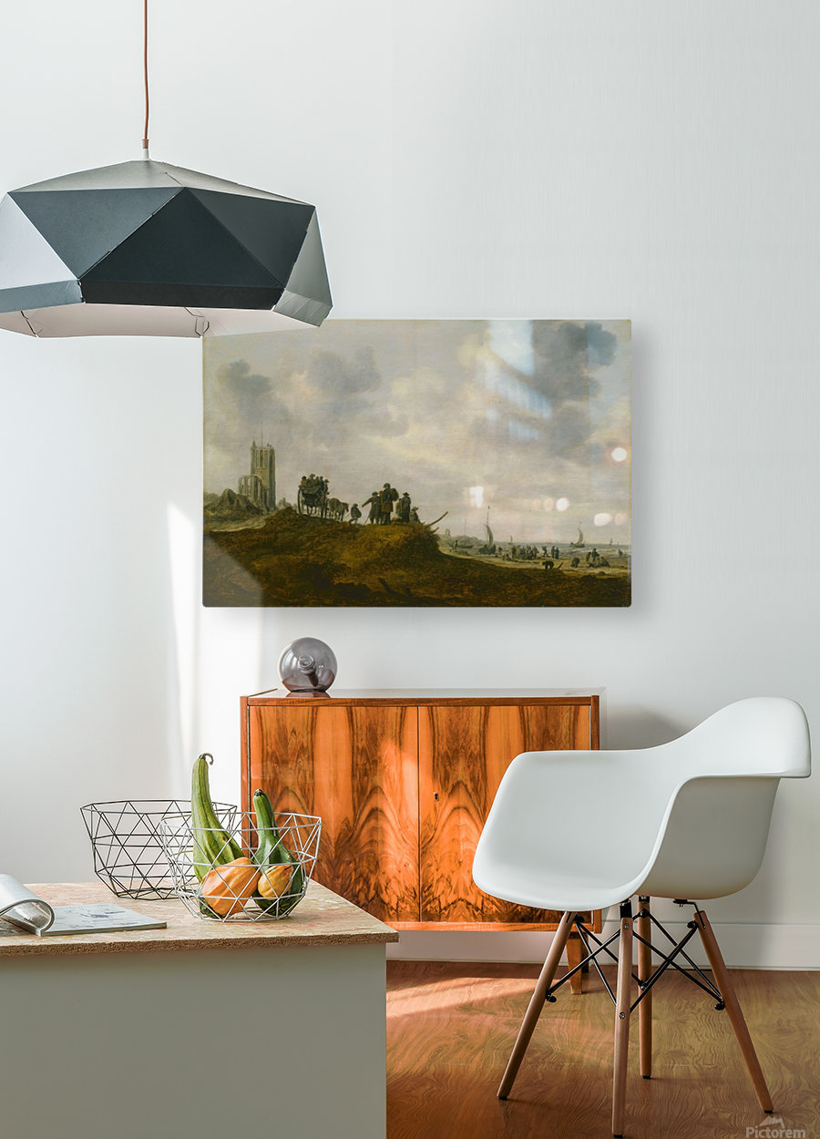 The Old Church  HD Metal print with Floating Frame on Back