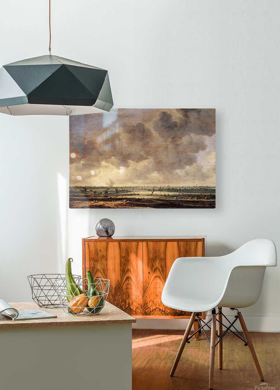 View of the Haarlemmermeer  HD Metal print with Floating Frame on Back