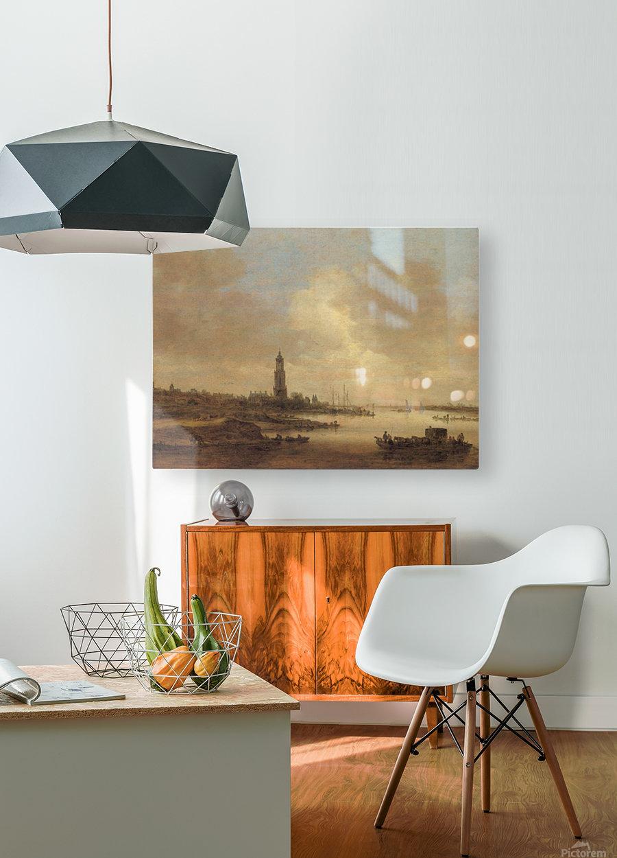 Gezicht op Rhenen  HD Metal print with Floating Frame on Back