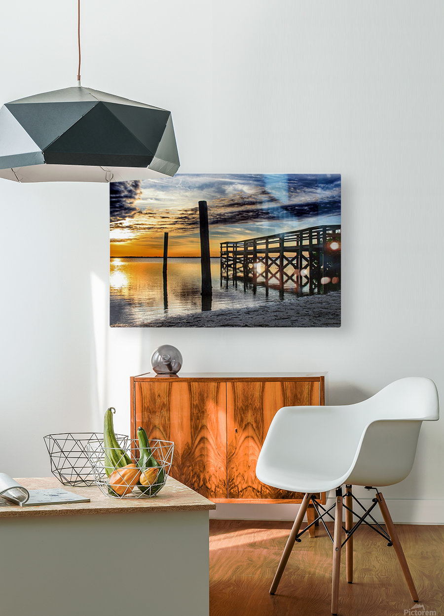 Serenity Collection - 02  HD Metal print with Floating Frame on Back