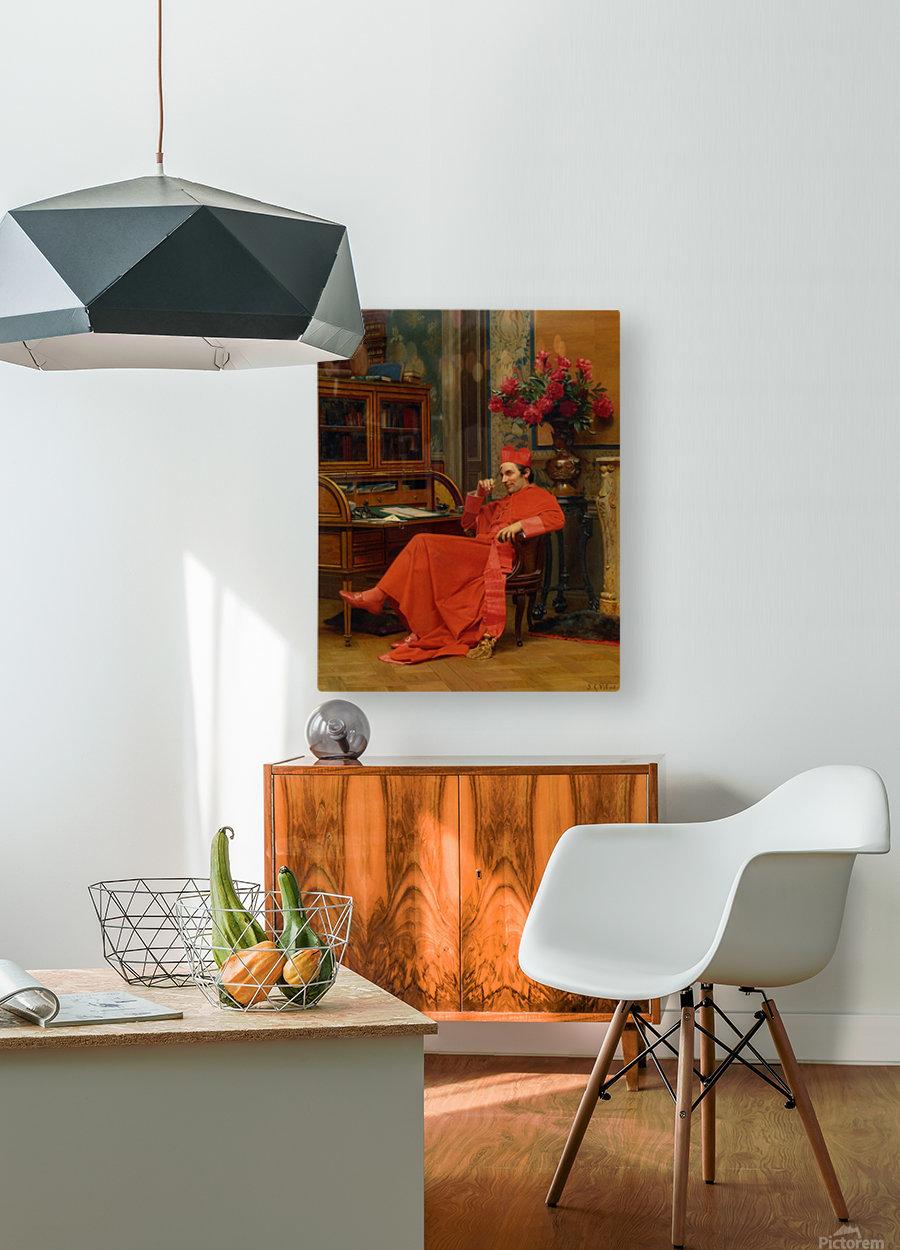 Eureka  HD Metal print with Floating Frame on Back