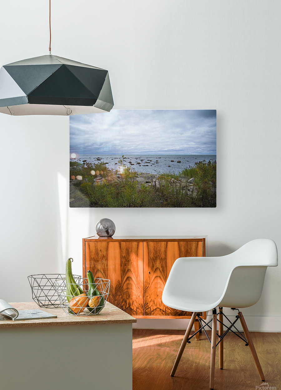 Kettle Point  HD Metal print with Floating Frame on Back