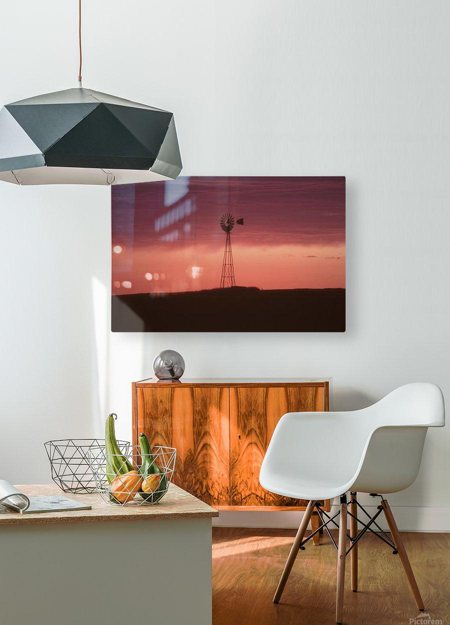 landscape_2_0559  HD Metal print with Floating Frame on Back