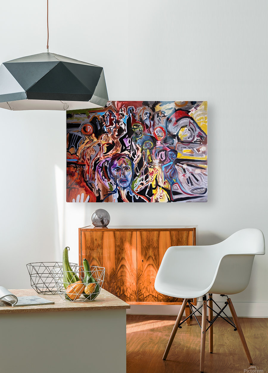 Cafarnaum  HD Metal print with Floating Frame on Back