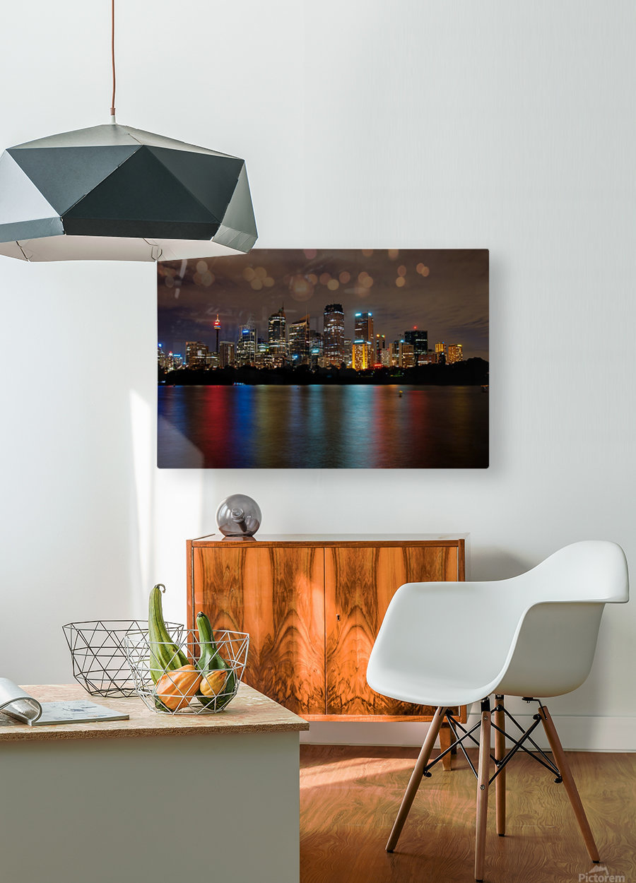 Colors of Sydney  HD Metal print with Floating Frame on Back