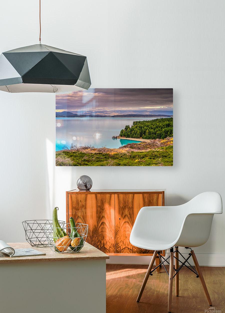 Lake_pukaki  HD Metal print with Floating Frame on Back