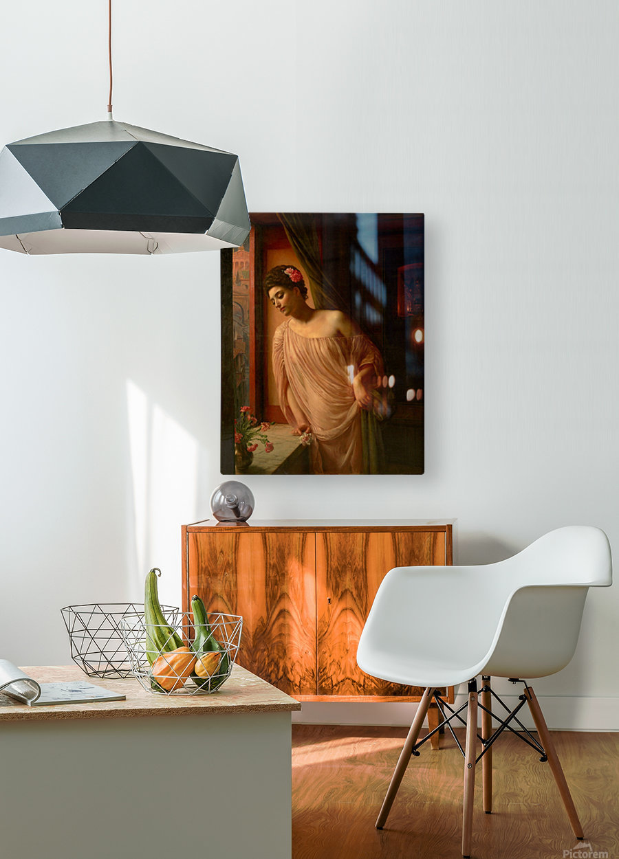 Asterie  HD Metal print with Floating Frame on Back