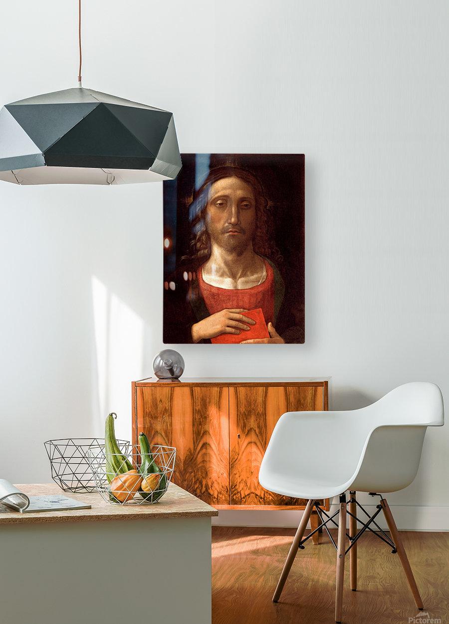 Christ  HD Metal print with Floating Frame on Back