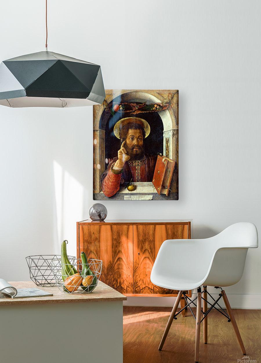 Saint Mark  HD Metal print with Floating Frame on Back