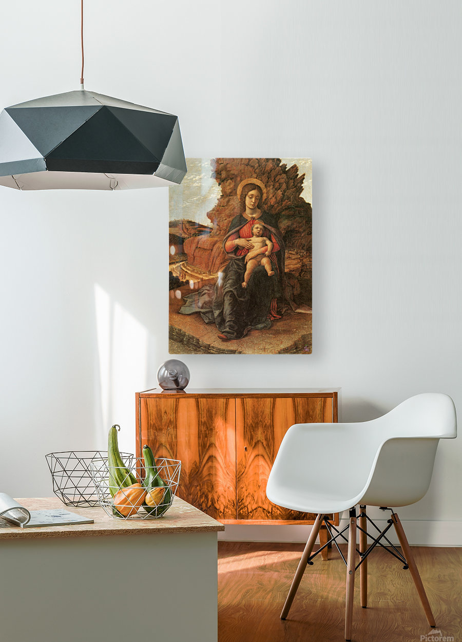 Madonna of the Cave  HD Metal print with Floating Frame on Back