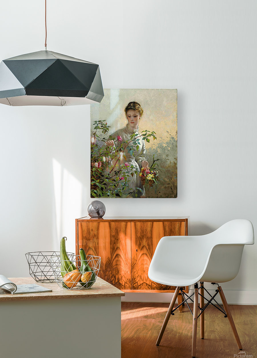 A Summer Bouquet  HD Metal print with Floating Frame on Back