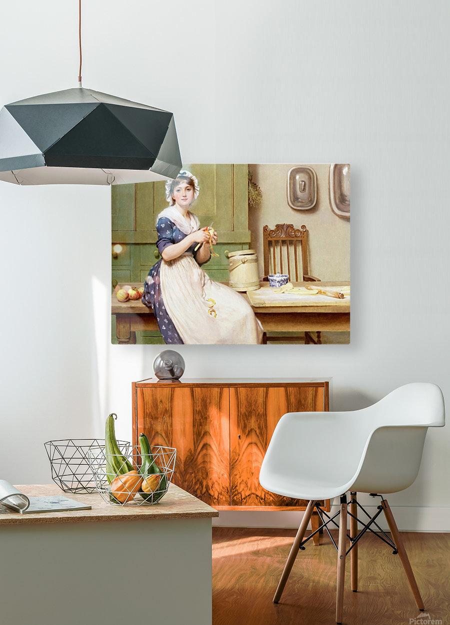 Apple Dumplings  HD Metal print with Floating Frame on Back