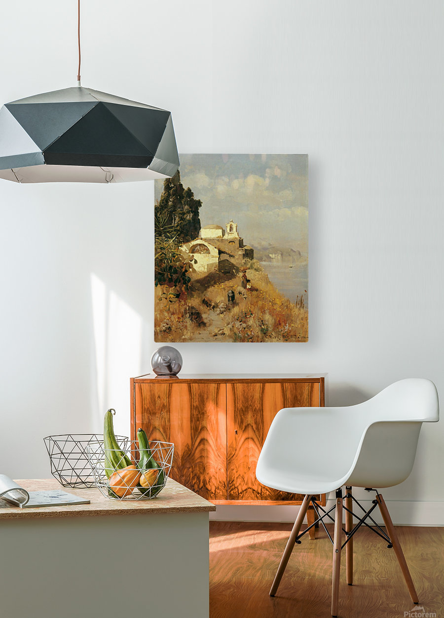 On Ischia in Casamicciola  HD Metal print with Floating Frame on Back