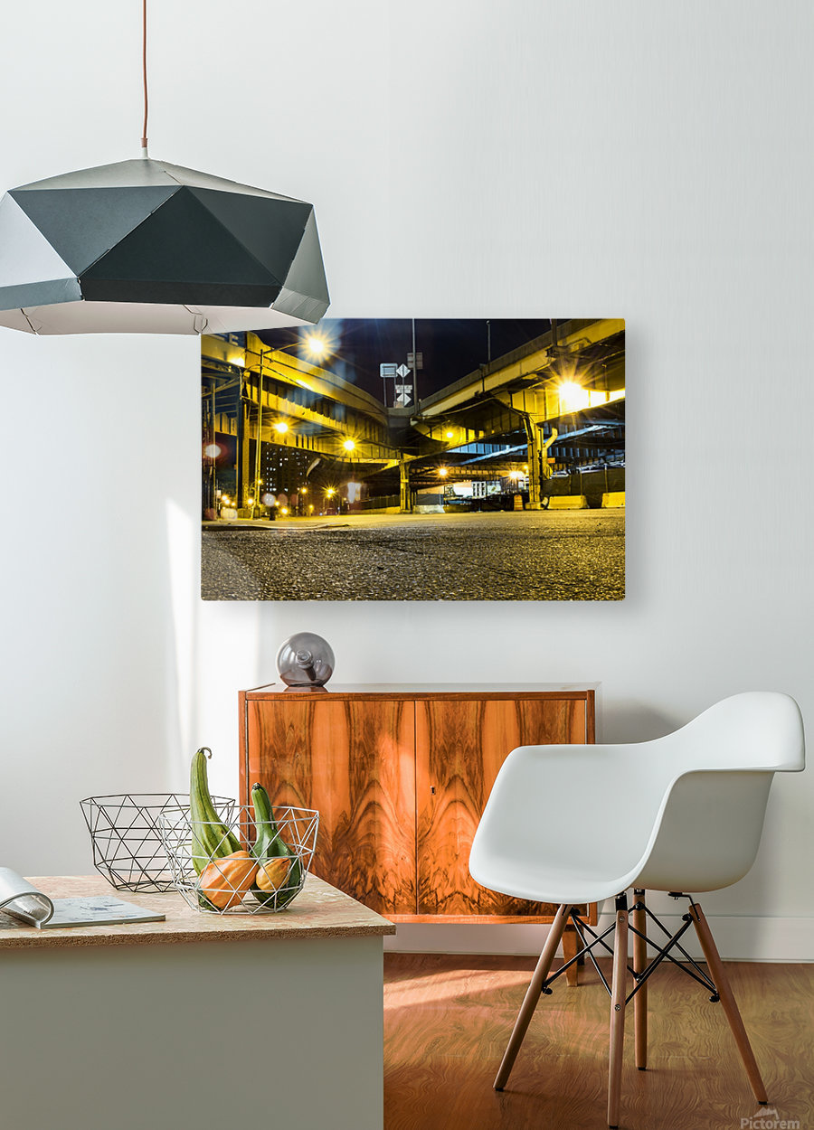 At The Apex  HD Metal print with Floating Frame on Back