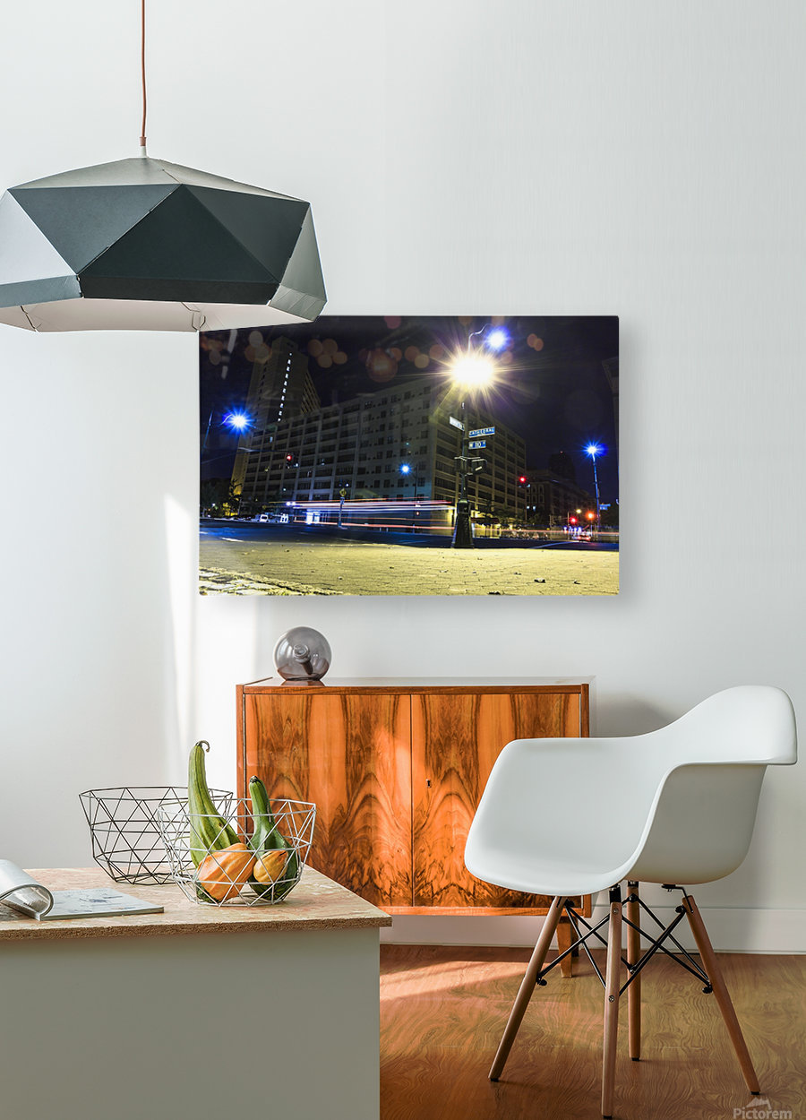 Cathedral Lights  HD Metal print with Floating Frame on Back