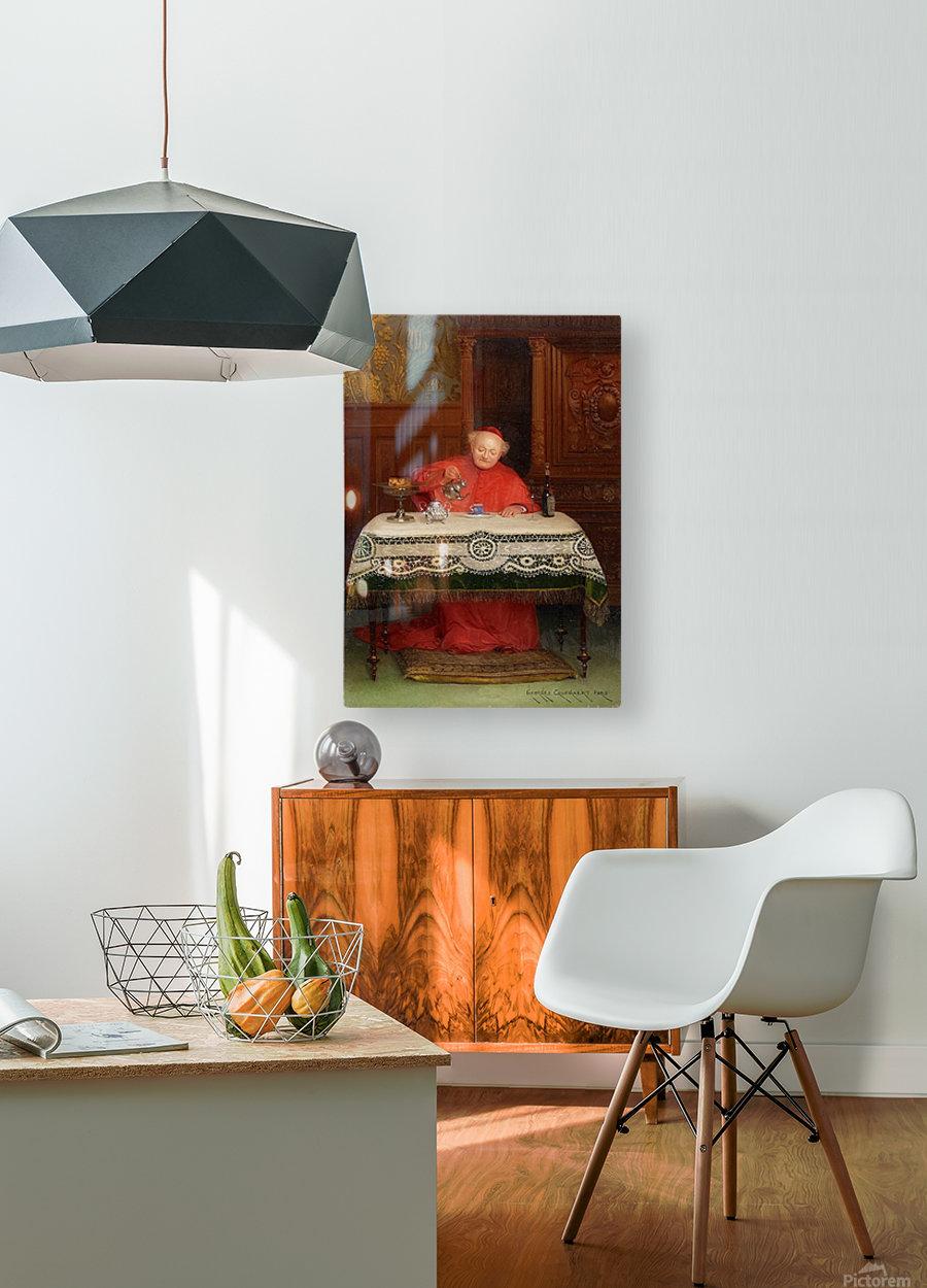 Der Kardinal  HD Metal print with Floating Frame on Back