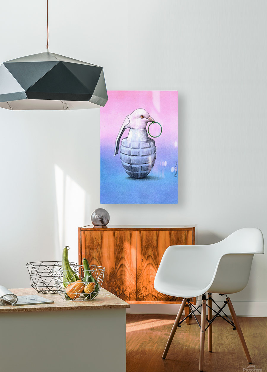 Peace  -  Pawel Kuczynski  HD Metal print with Floating Frame on Back