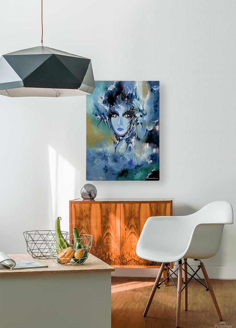 Depth in Venus  HD Metal print with Floating Frame on Back