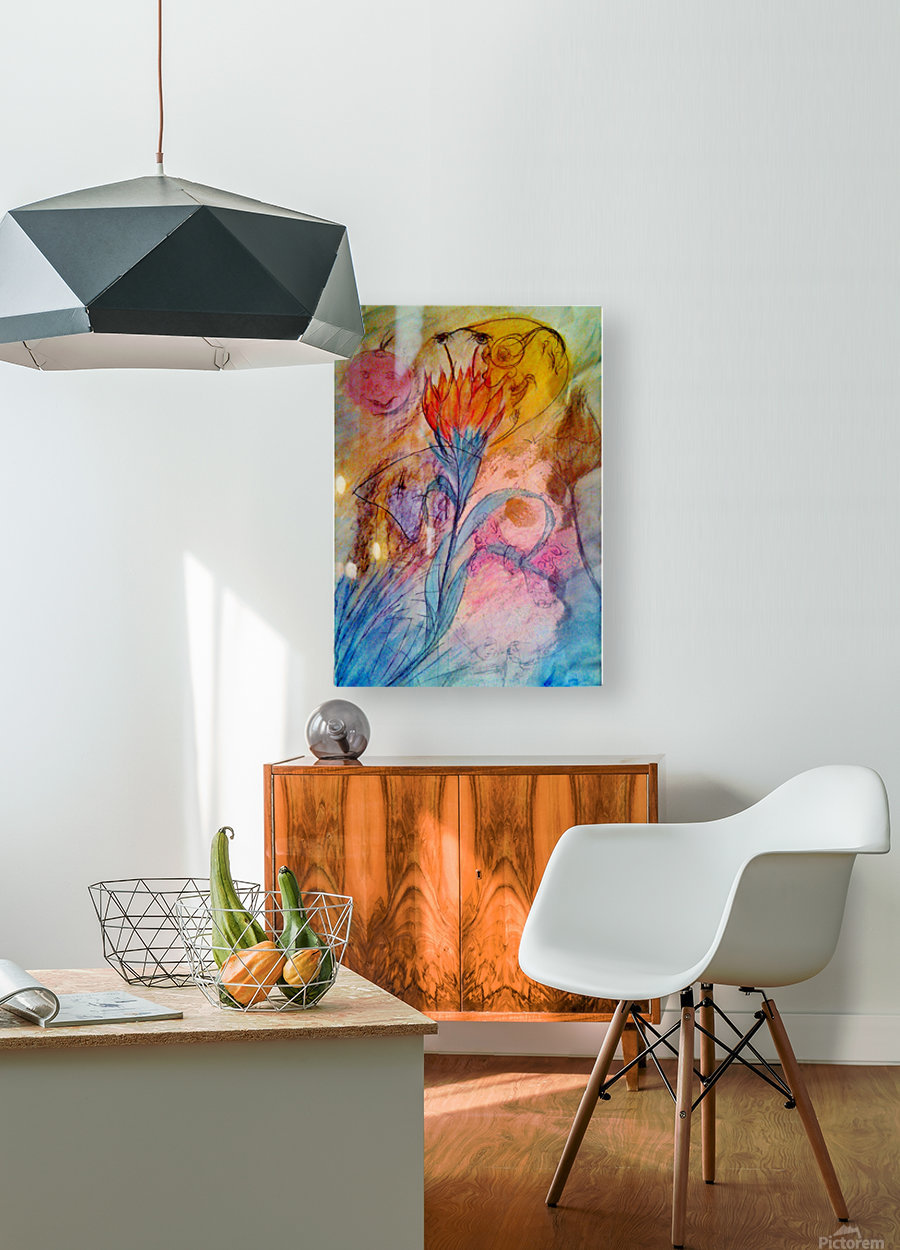 ByLittle   HD Metal print with Floating Frame on Back