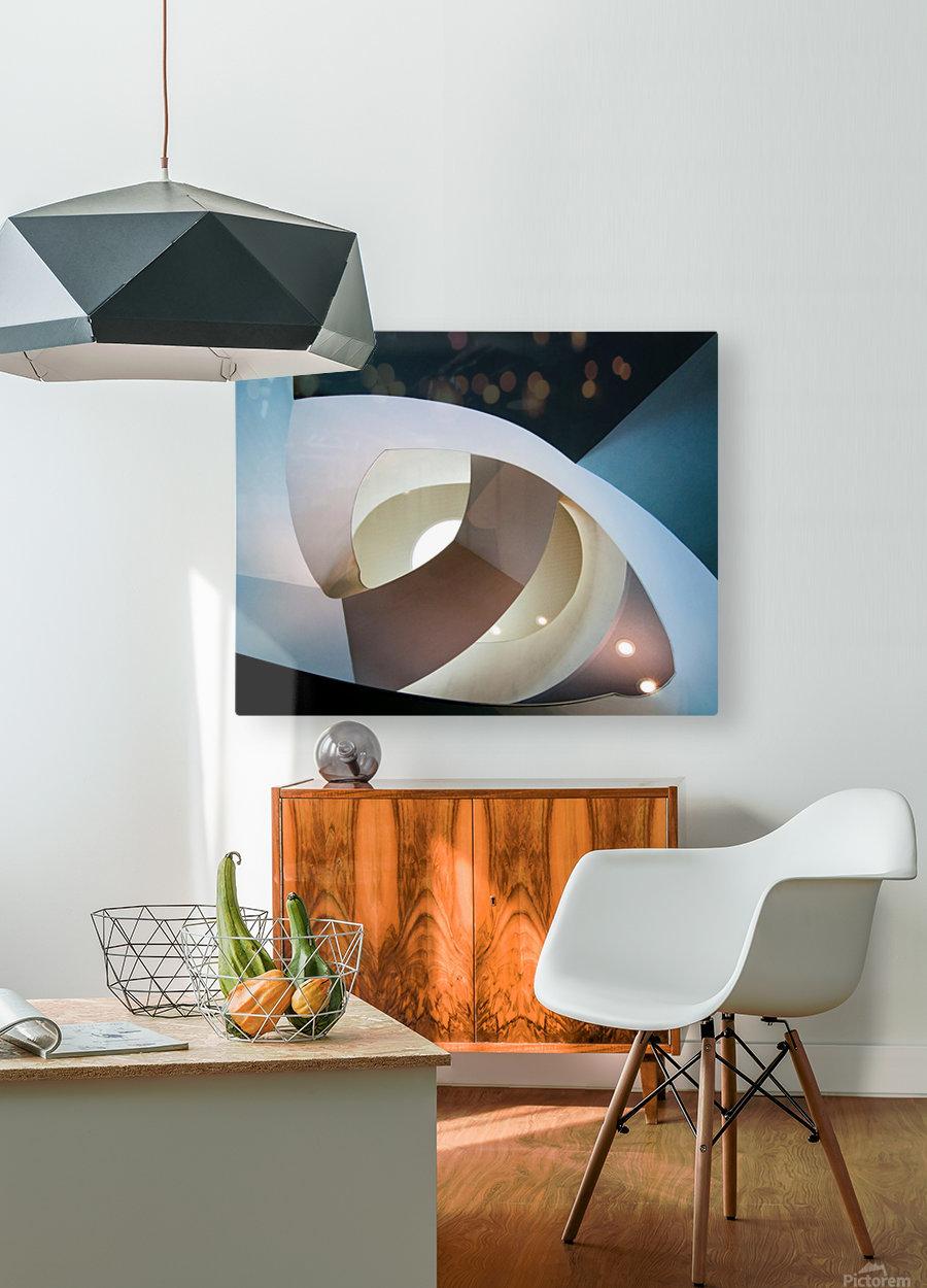 Top light  Impression métal HD avec cadre flottant sur le dos