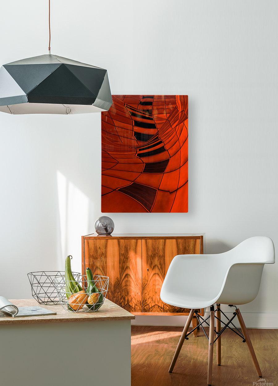 Carenza  HD Metal print with Floating Frame on Back