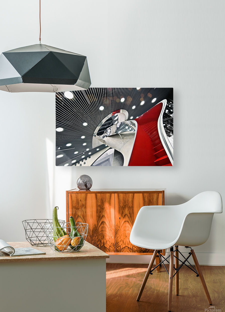 Mumuth  HD Metal print with Floating Frame on Back