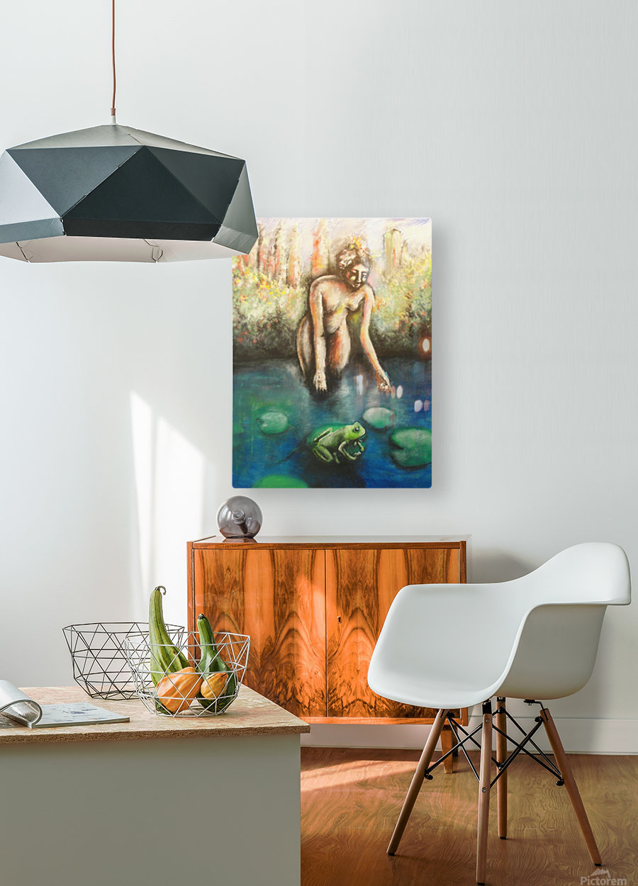 Central Park II  HD Metal print with Floating Frame on Back
