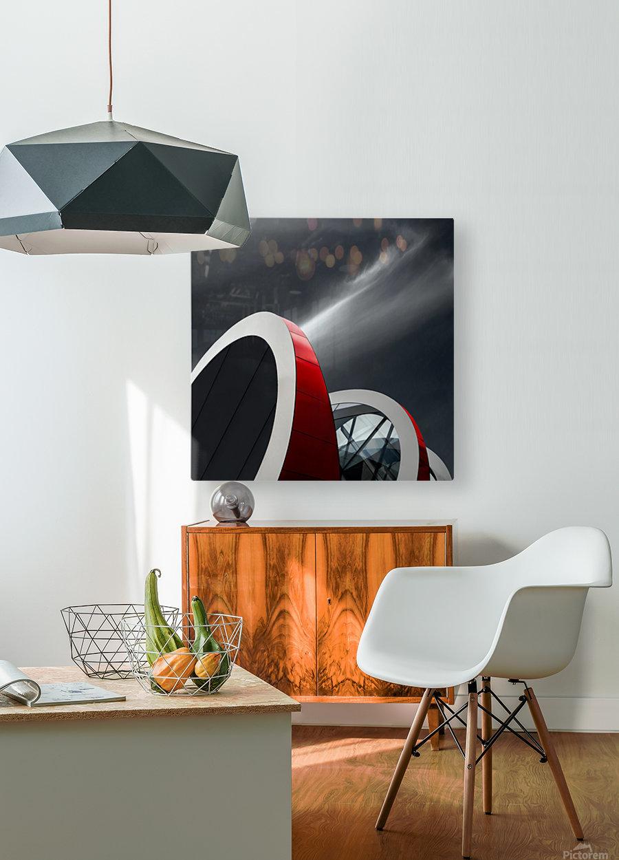 Mediacita  HD Metal print with Floating Frame on Back