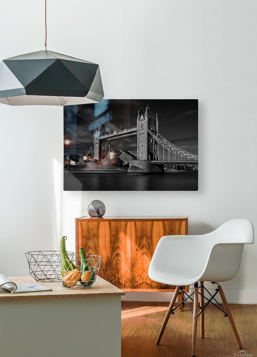 Bridge  HD Metal print with Floating Frame on Back