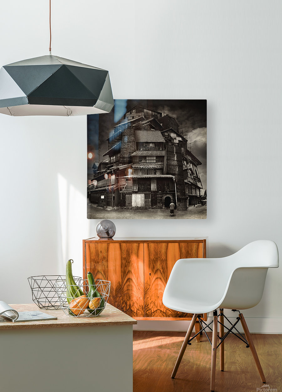 Big old house  HD Metal print with Floating Frame on Back