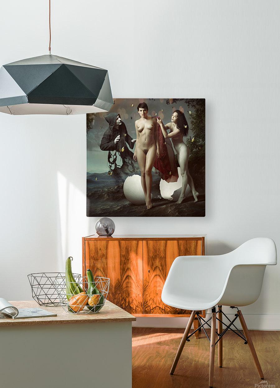 Nascita di Venere  HD Metal print with Floating Frame on Back