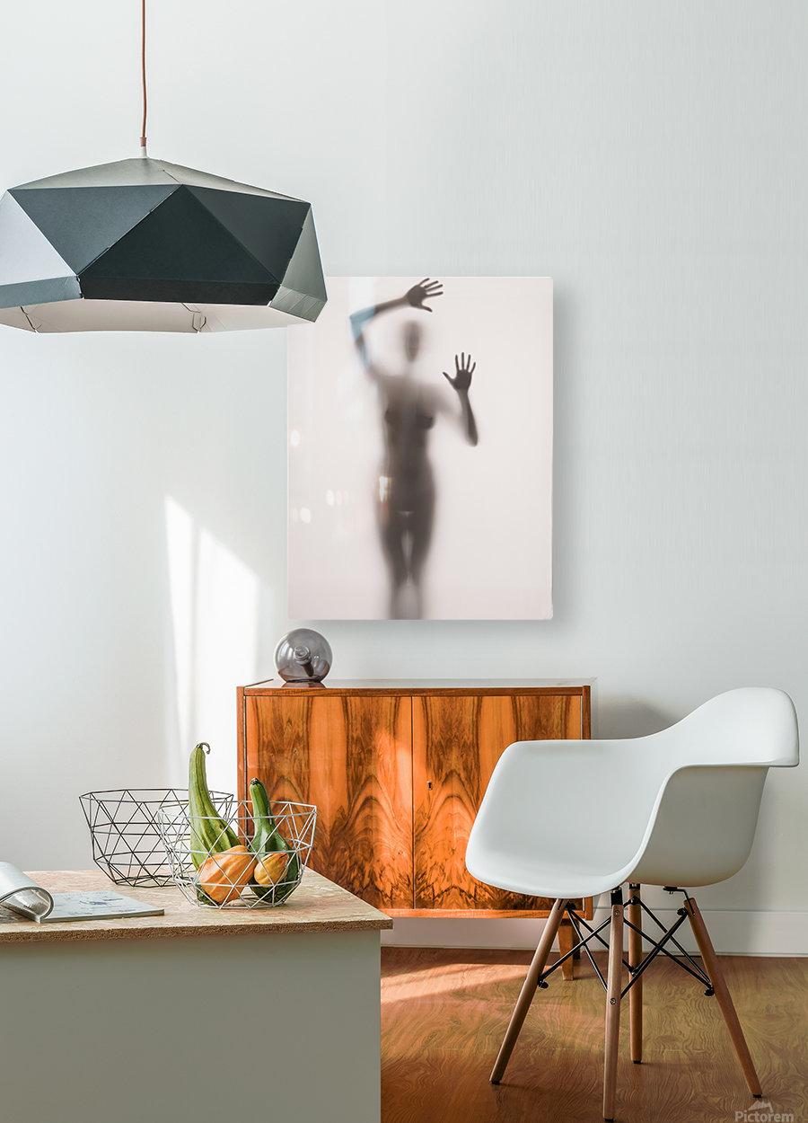 Mist  HD Metal print with Floating Frame on Back