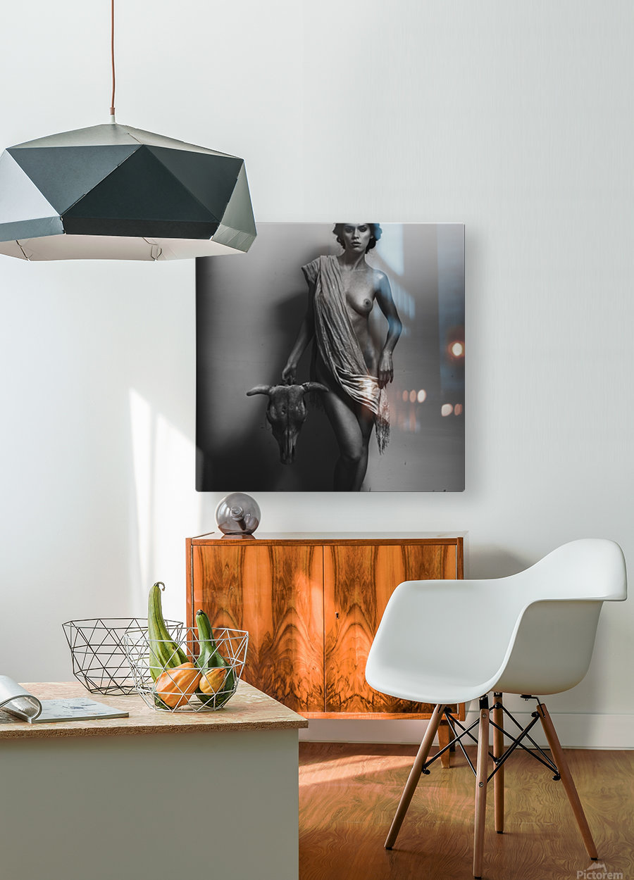 Nemesis  HD Metal print with Floating Frame on Back